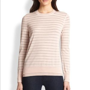 Tory Burch Naia Layered Wool Sweater